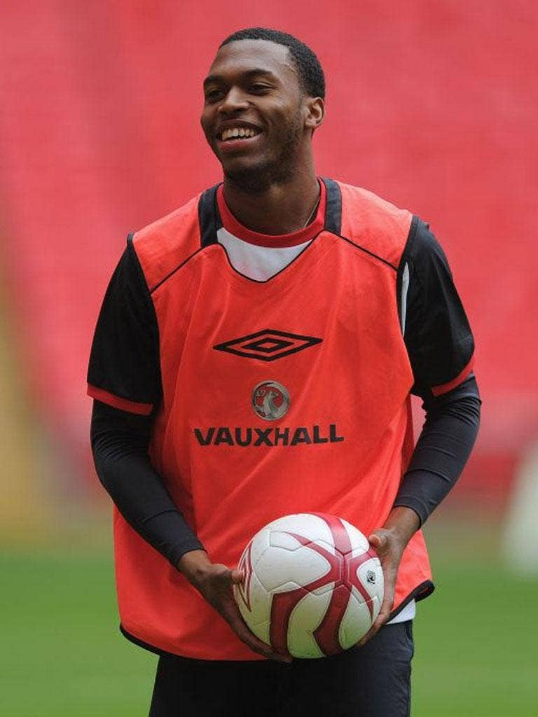 Daniel Sturridge underlined his credentials for a Euro 2012 berth with a useful Wembley display