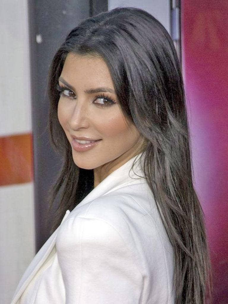 Kim Kardashian is a fan of 'vocal fry', a non-fattening and newly identified way of speaking that is,  apparently, big with young women in the US