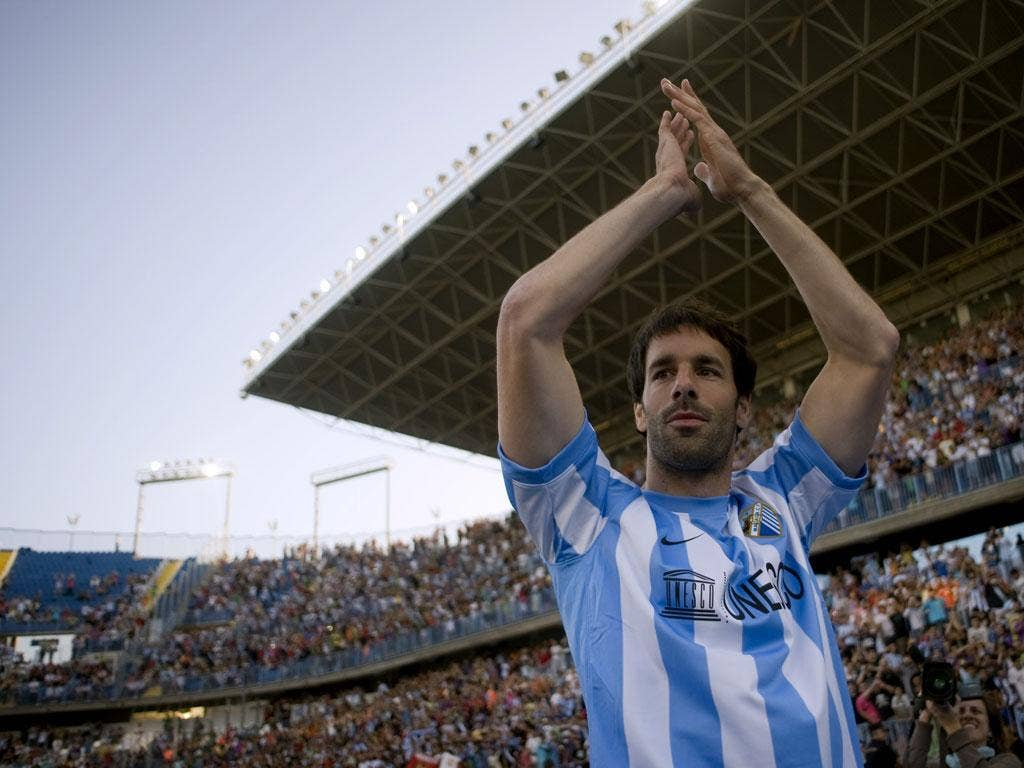 Ruud van Nistelrooy is among Malaga's recent high-profile signings