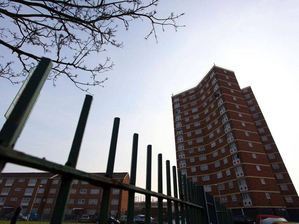 Crime scene: the London tower block where Kristy Bamu was murdered