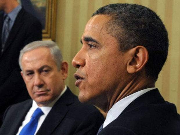 Barack Obama met with Israeli Prime Minister Benjamin Netanyahu today