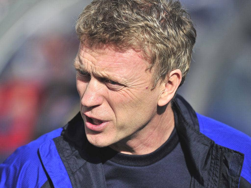 David Moyes has been named LMA manager of the year three times in his spell at Everton