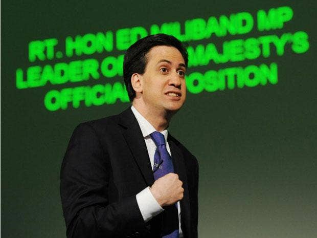 Ed Miliband was criticised by radio listeners today