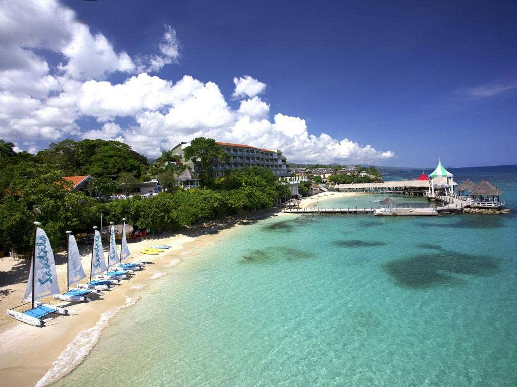 All yours: adults-only Sandals Grande Riviera in Jamaica has had a revamp