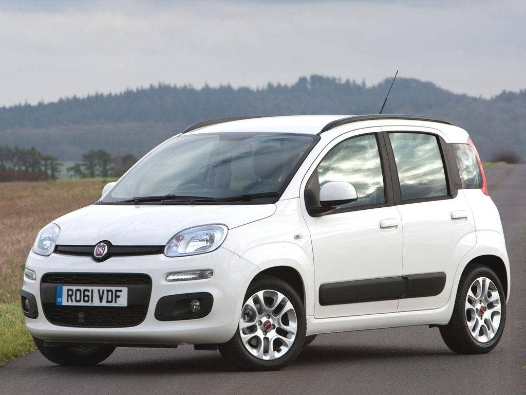 Fiat Panda Twin Air - Price: from£10,750; Engine capacity: 875cc; Power output (PS @ rpm): 85 @ 5,500; Top speed (mph): 110 0-60 mph (seconds): 11.2; Fuel economy (mpg): 67.3; CO2 emissions (g/km): 99