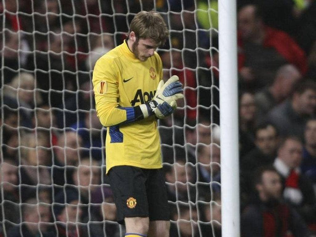 David de Gea saved United from heavy defeat against Athletic Bilbao
