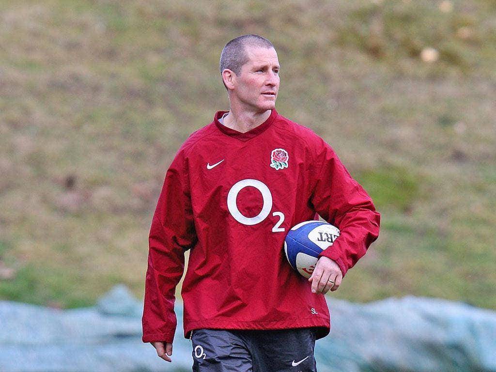 England coach Stuart Lancaster: 'From the outset I knew that I was performing the role of interim coach'