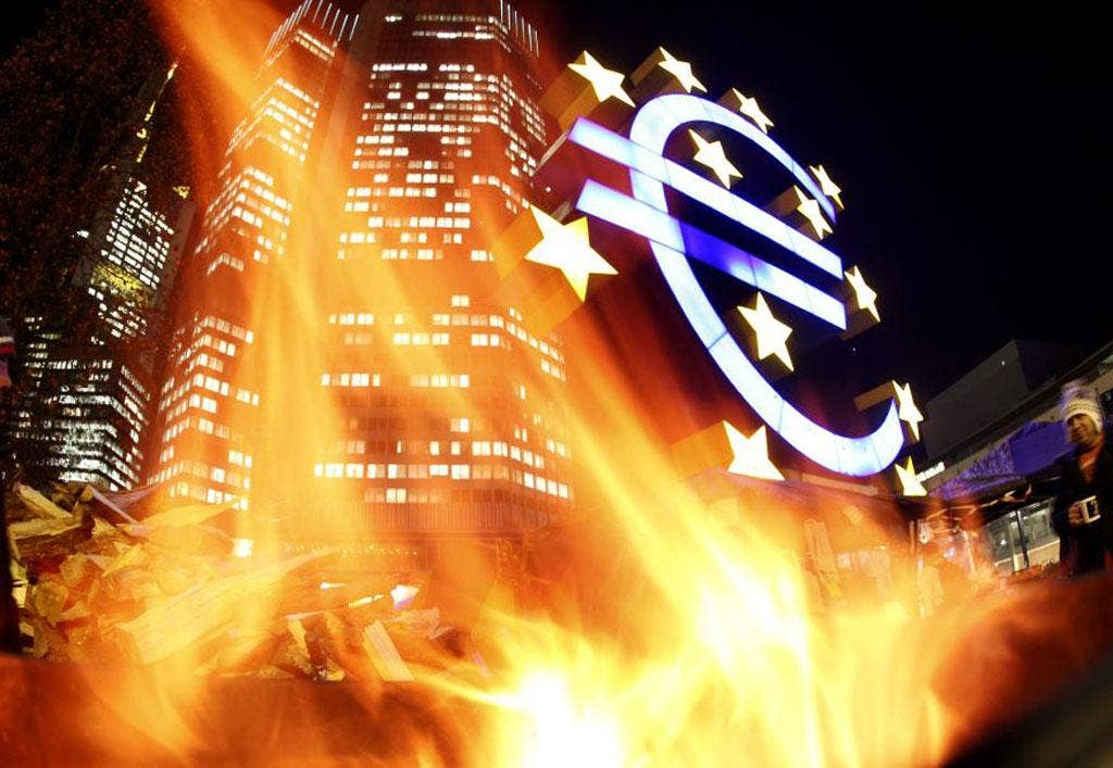 The eurozone is a risky area for investors