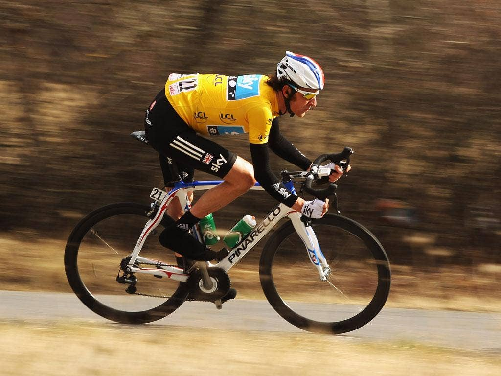 Road runner: Bradley Wiggins shows he is more than just a great track cyclist