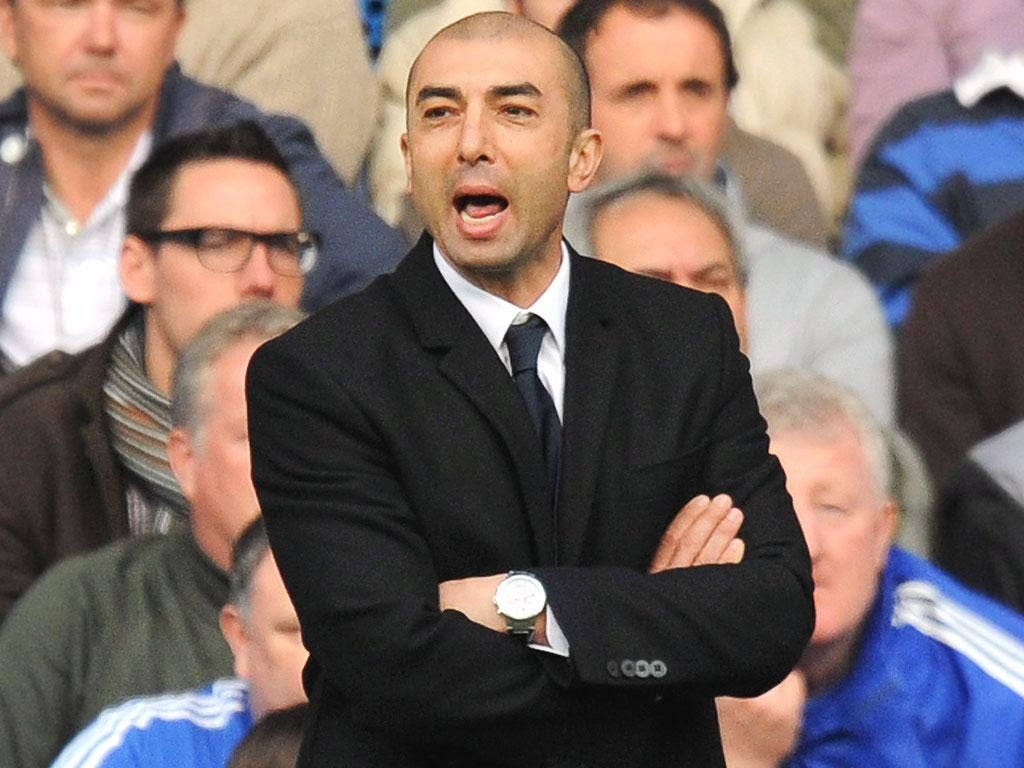 ROBERTO DI MATTEO: The former Italian international has led Chelsea to wins in the FA Cup and league