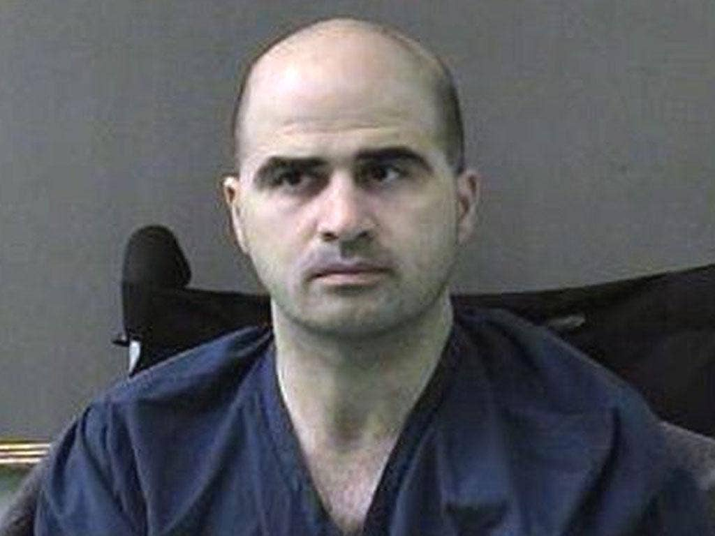 NIDAL HASAN: The psychologist accused of killing 13 at Fort Hood. Colleagues had raised fears over his mental state