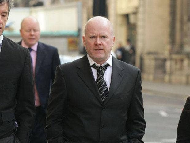 Steve McFadden accepted undisclosed damages in the High Court today