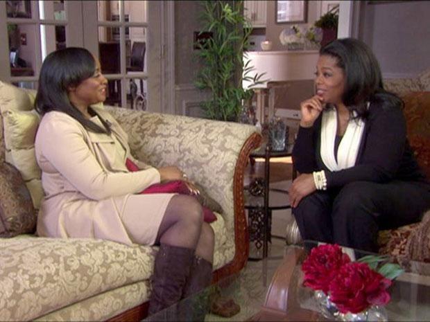 Bobbi Kristina Brown talks to Oprah Winfrey