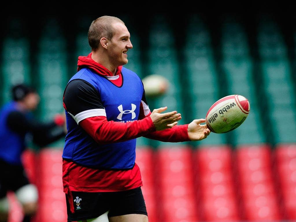 Gethin Jenkinsis one of those with Grand Slam experience