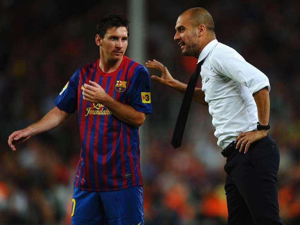 Messi wants Guardiola to stay