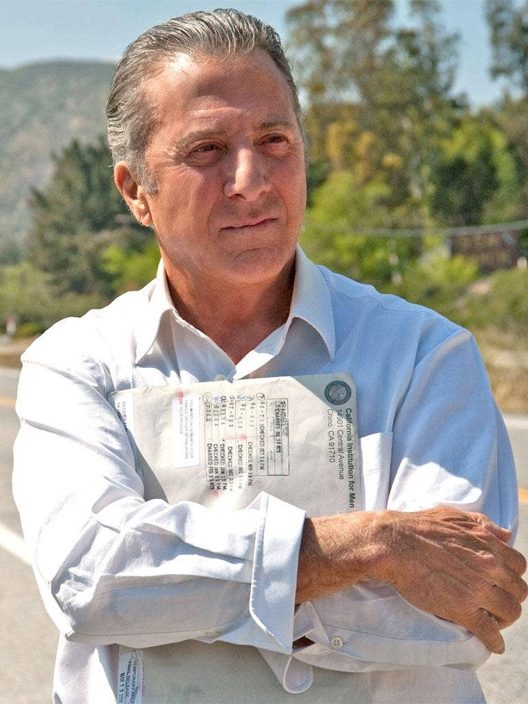 Dustin Hoffman stars in the drama, which has gained critical acclaim