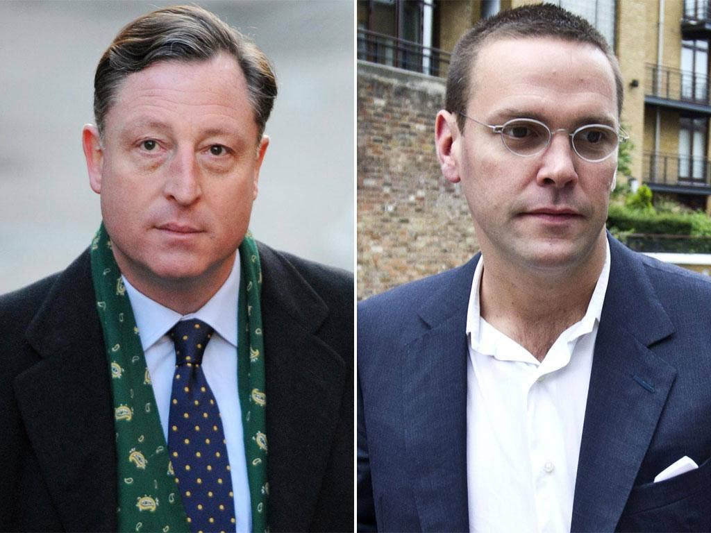Neville Thurlbeck was detained yesterday; James Murdoch has claimed inconsistencies in evidence