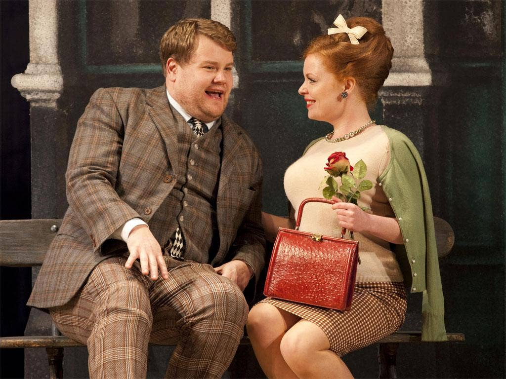 James Corden in One Man, Two Guvnors at the NT Lyttelton