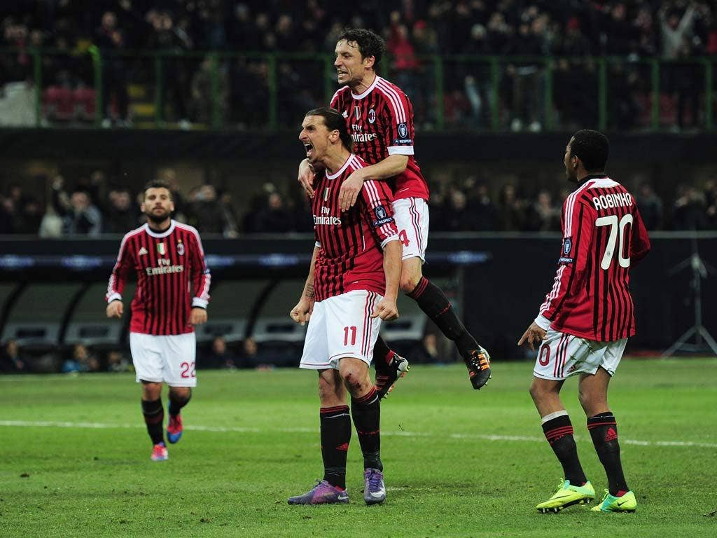 <b>AC MILAN</b><br/> They might not be as good as they used to be, but their performance in a 4-0 defeat of Arsenal was still that of a high-quality outfit, to say nothing of their four-point lead at the top of Serie A. The midfield is creaking but Zlatan