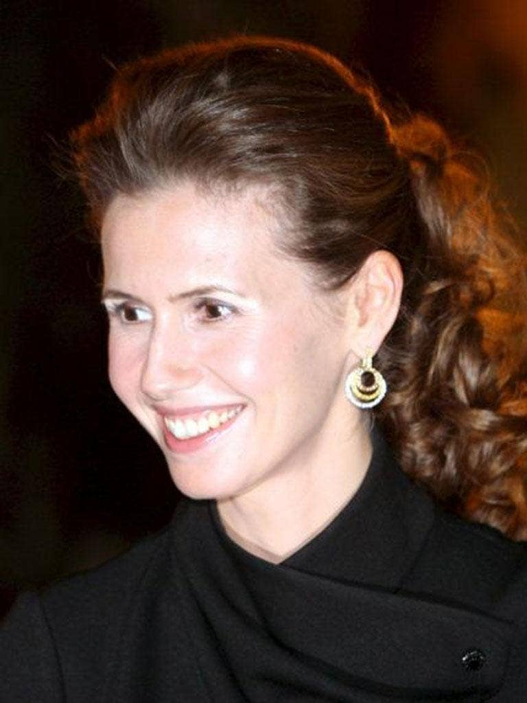 Carry on shopping: Asma Assad knows a lot about jewellery