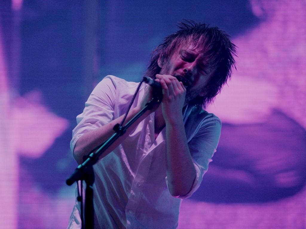 Dollars & Cents: Thom Yorke from the pricey-to-watch Radiohead
