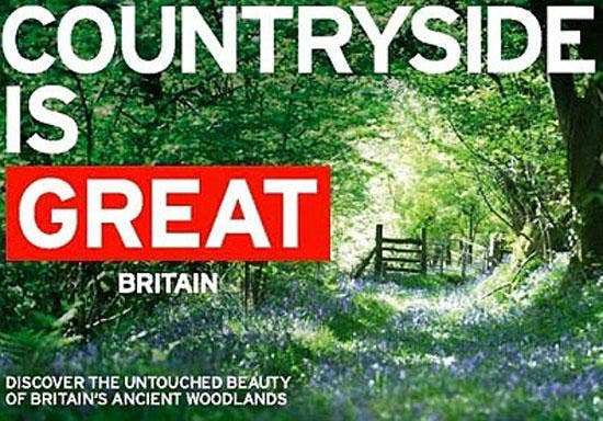 The current tourism ad campaign promoting Britain abroad