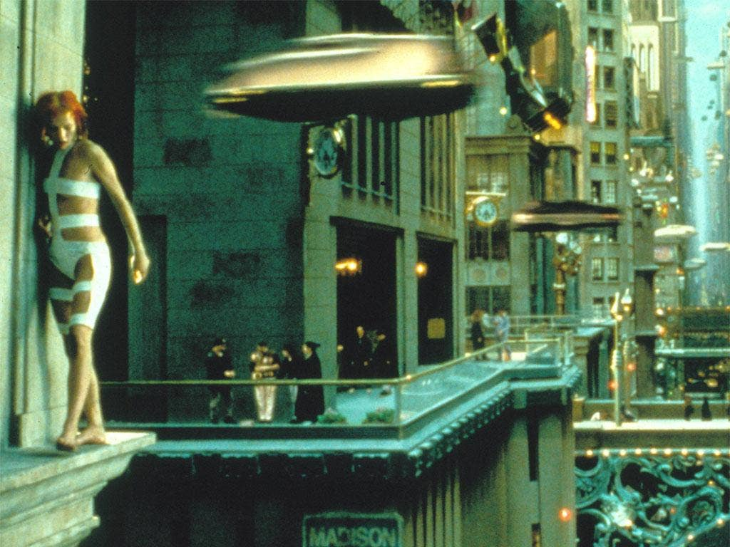 'Arc' hopes to forecast the future, as seen in 'The Fifth Element'