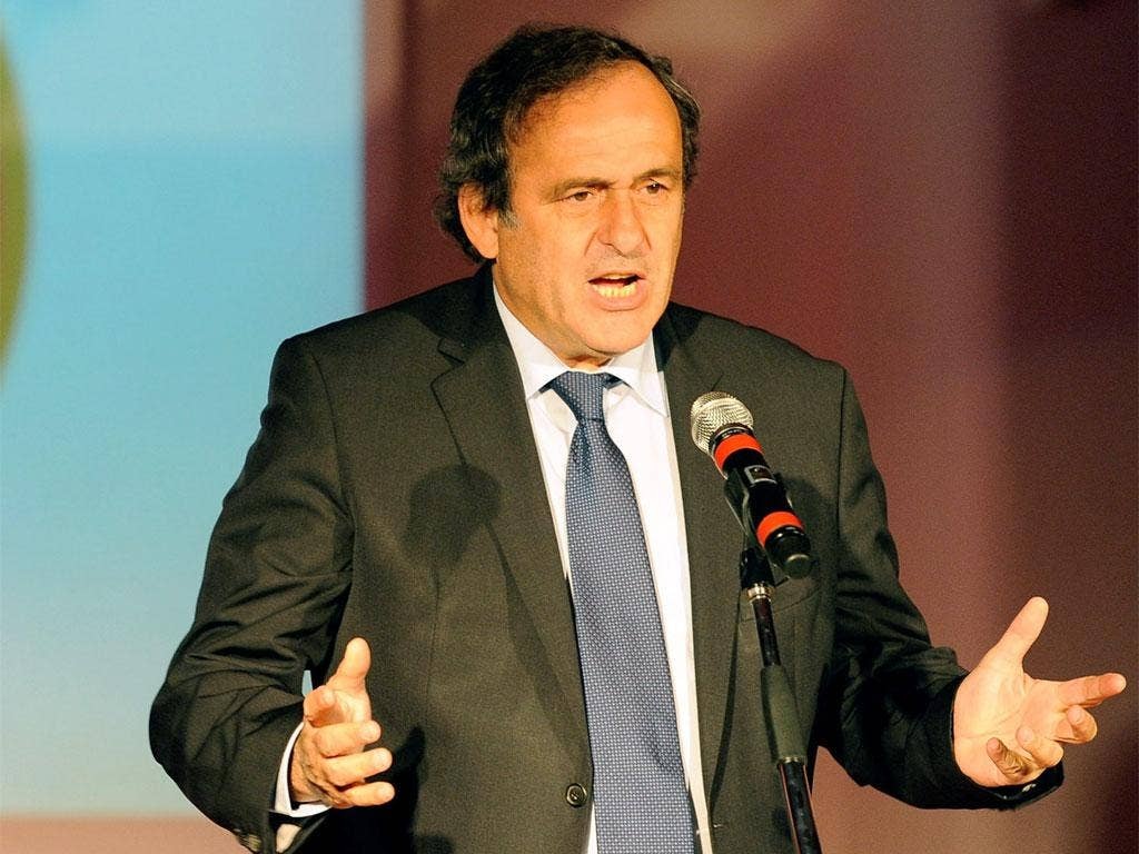 Expensively assembled squads like Manchester City's will be subject to the FFP regulations that Uefa's Michel Platini (pictured) discussed in Istanbul yesterday
