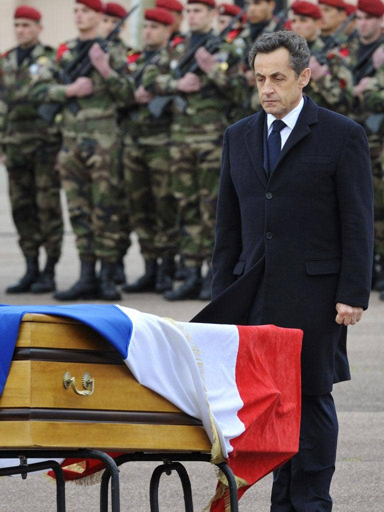 Sarkozy has a chance to step back and be the voice of the people