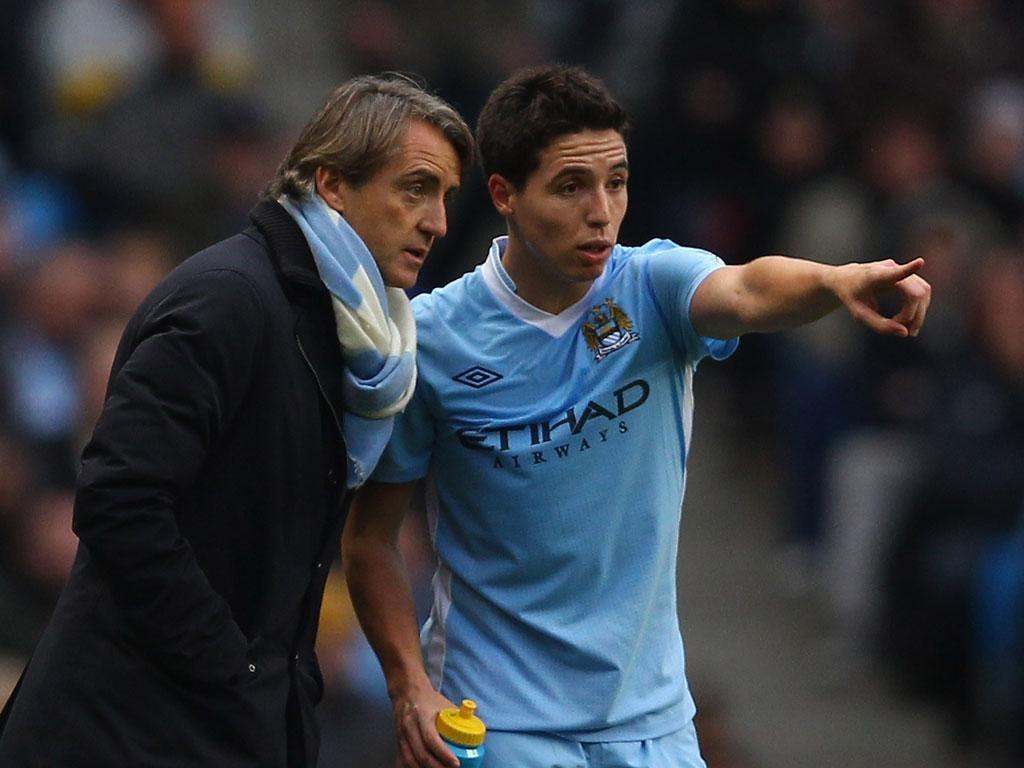 Samir Nasri says Roberto Mancini could be the 'dad' figure he needs