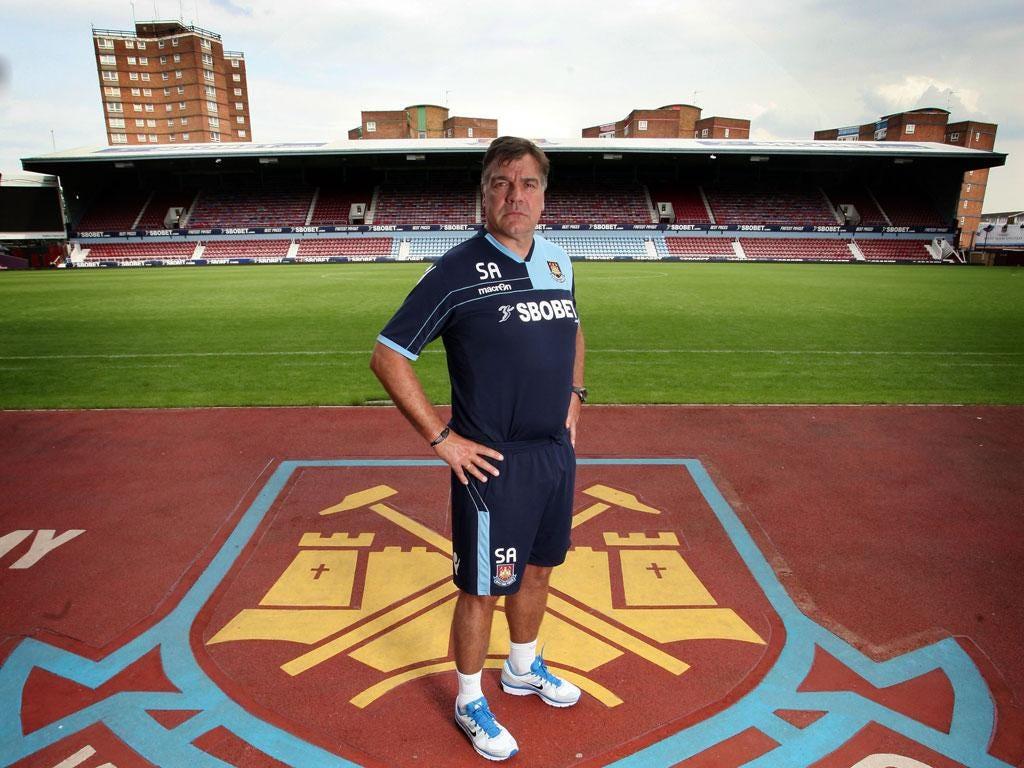 Sam Allardyce has seen West Ham draw their last five home games