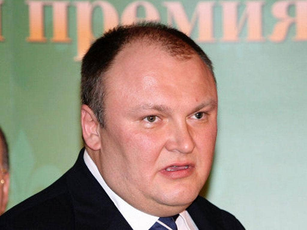 German Gorbuntsov was shot in Canary Wharf on Tuesday evening