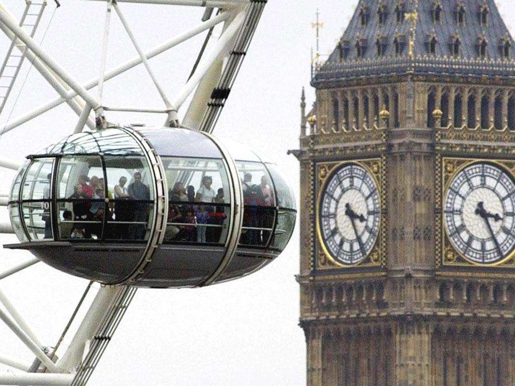 For whom the bell tolls: The London Eye's stunning views