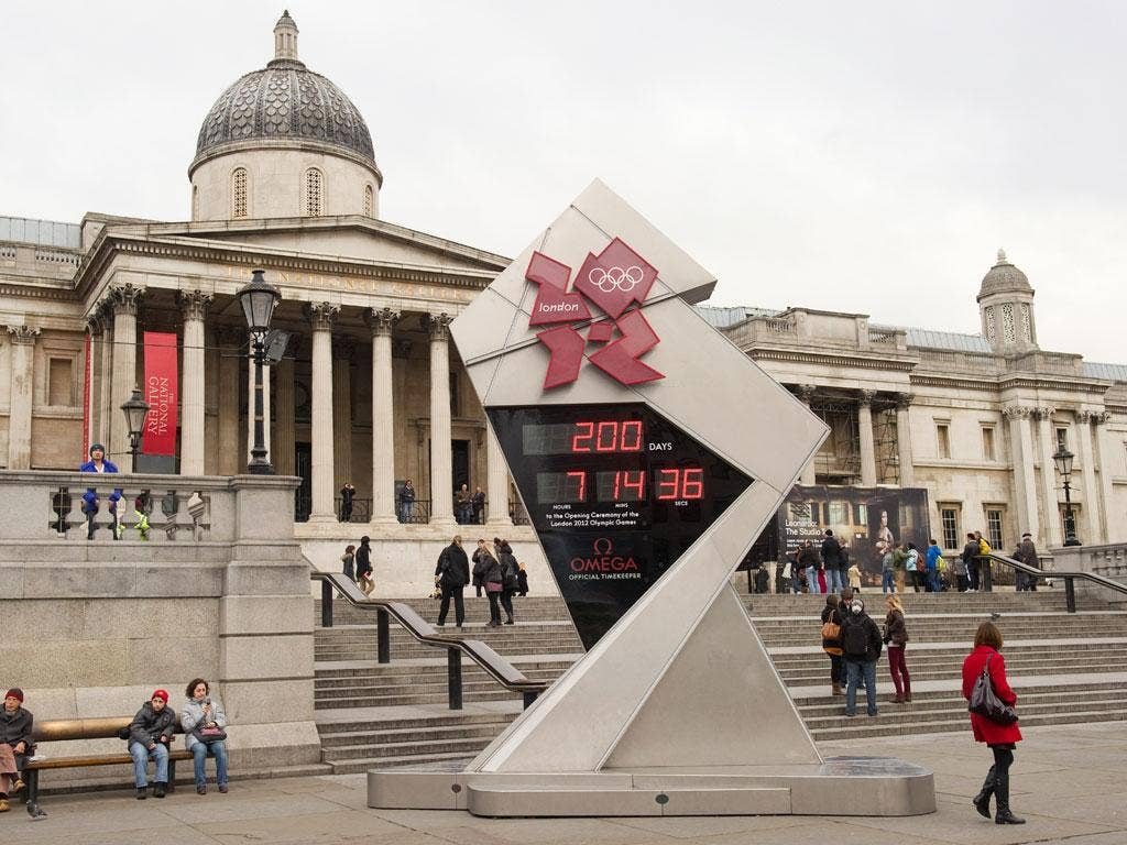 The BBC Olympics comedy Twenty Twelve featured problems with the Olympic countdown clock. The morning after it aired, the real-life clock in Trafalgar Square broke