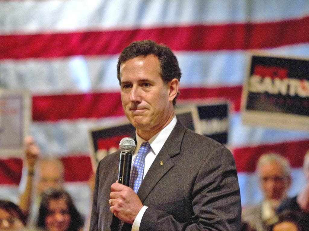 Early exit polls showed that Santorum's win in Louisiana was one of his strongest performances to date