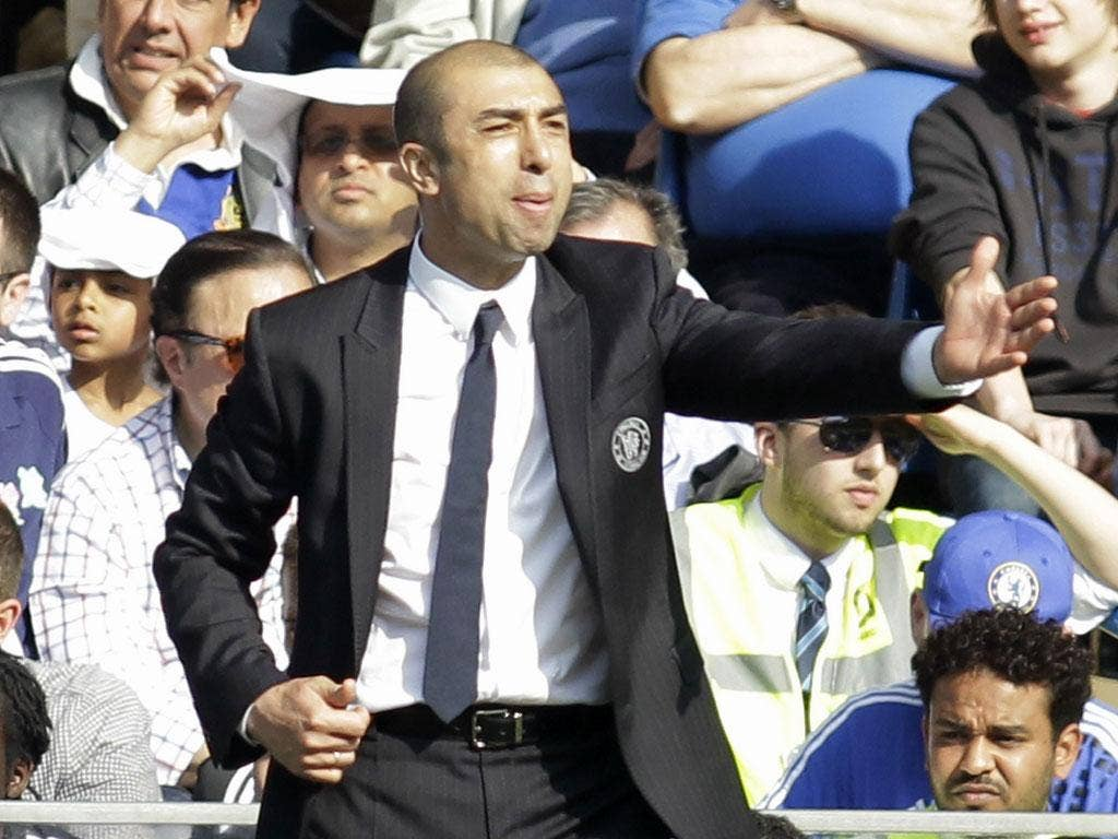 ROBERTO DI MATTEO: Chelsea's interim manager says his players may burn out if they are not rested