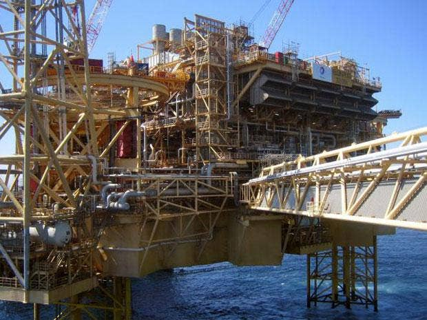 The leak on Total's Elgin PUQ platform led to the evacuation of all 238 workers