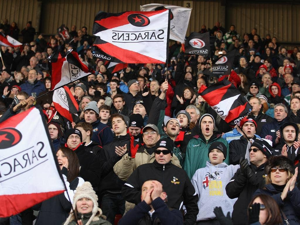 Saracens hope to be able to redevelop their stadium