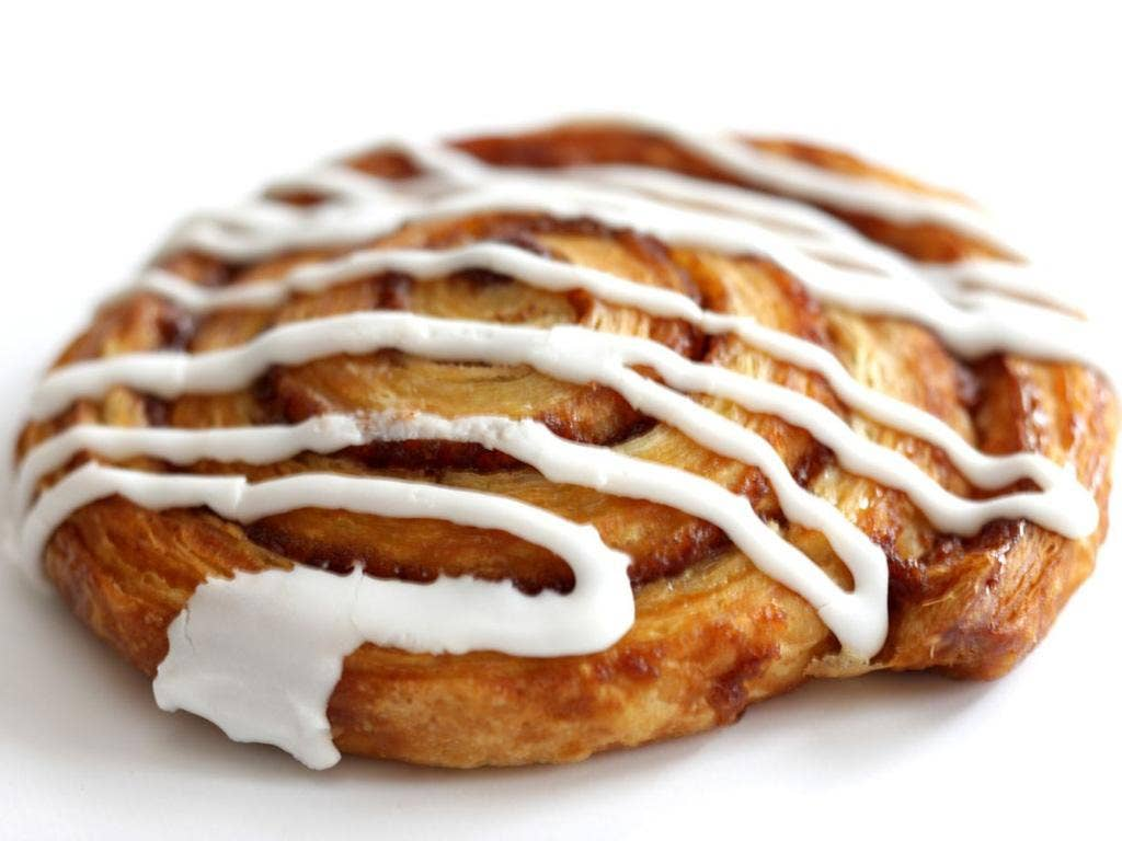 Danish Pastry: 287 calories