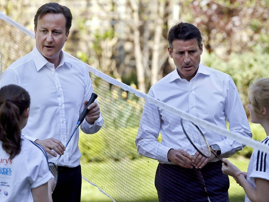 """David Cameron: """"Serve? Me? My dear I've never served in my life."""" (30/03/12) <br/><br/> <a href=""""http://www.independent.co.uk/captions"""" target=""""new"""">To enter the current caption competition, click here.</a>"""