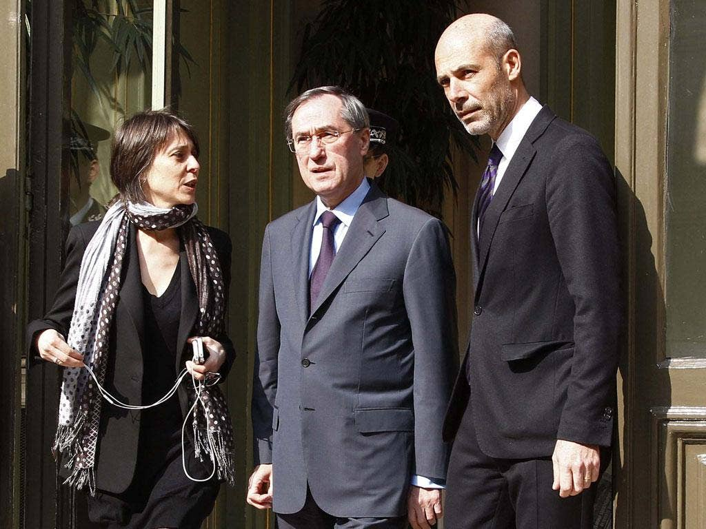 Claude Gueant (centre): France's Interior Minister said the suspects boasted about a radical Islamist ideology