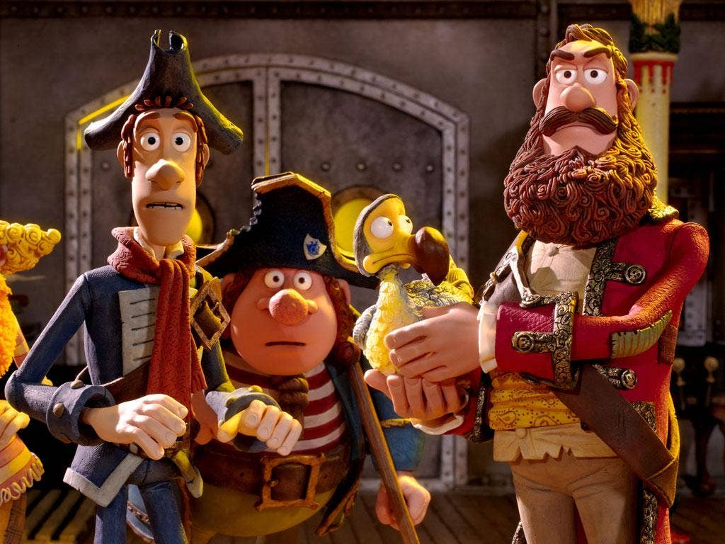 A scene from Aardman's 'The Pirates! In an Adventure with Scientists'
