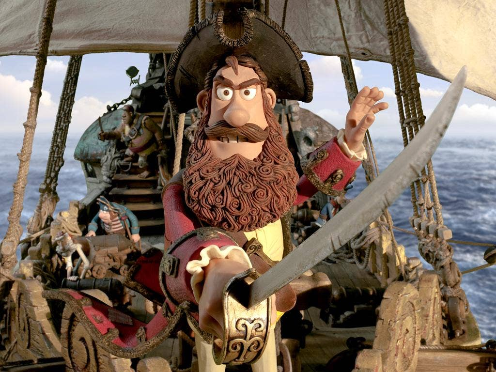 Hugh Grant is the voice of the Pirate Captain in Aardman Animations' <i>The Pirates! In an Adventure with Scientists</i>