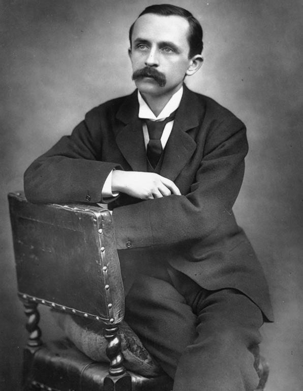 Spirited revival: JM Barrie in 1888
