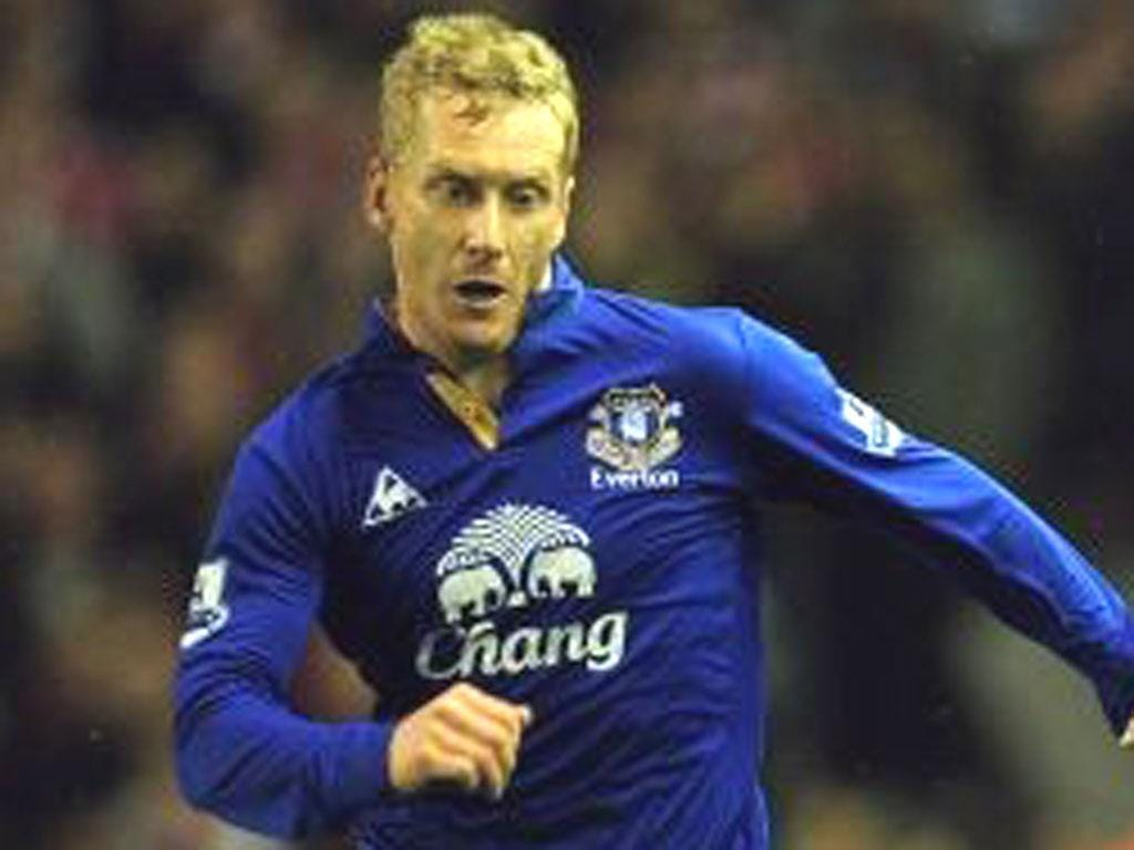 TONY HIBBERT: Everton rightback says his team-mates are confident while they are winning