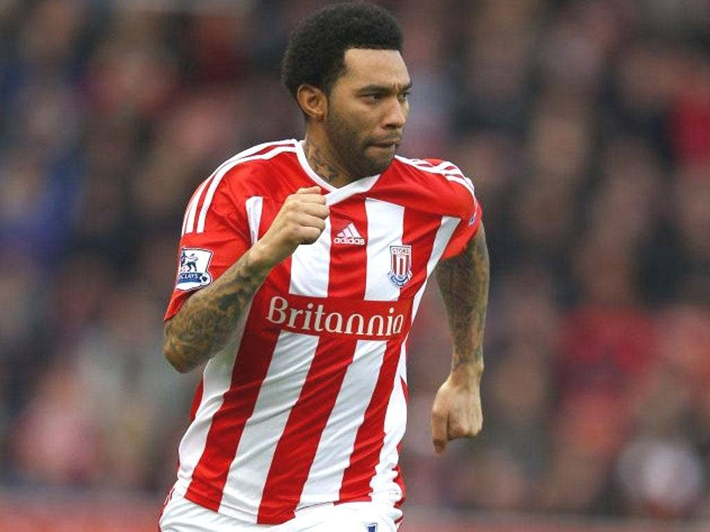 JERMAINE PENNANT: The Stoke City winger used Twitter to express his frustration