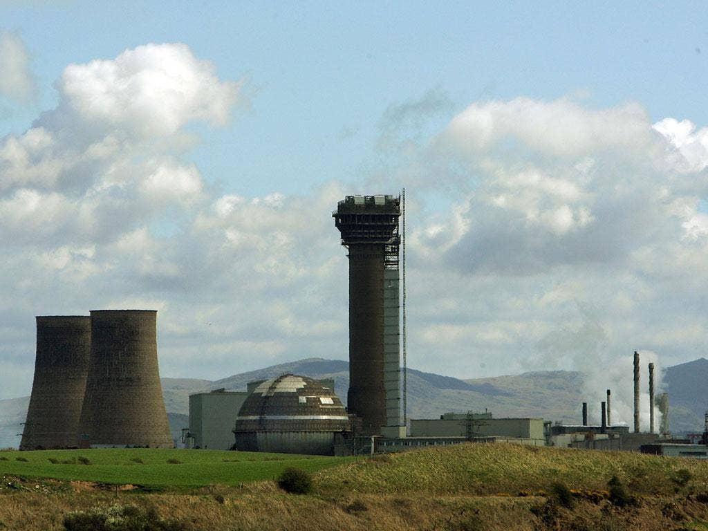 The Government is considering building a nuclear fast reactor at Sellafield
