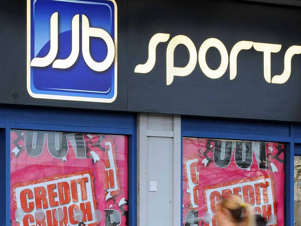 JJBSports saw a jump in its battered share price today