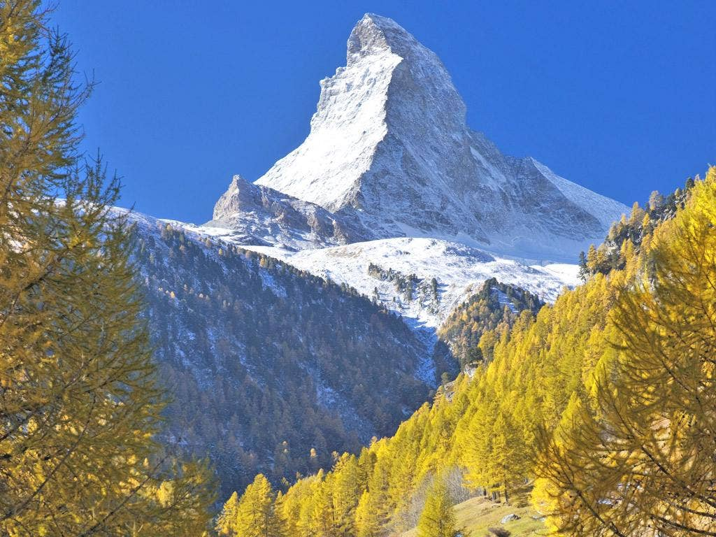 Icy crevices on the Matterhorn are creating more rockfalls