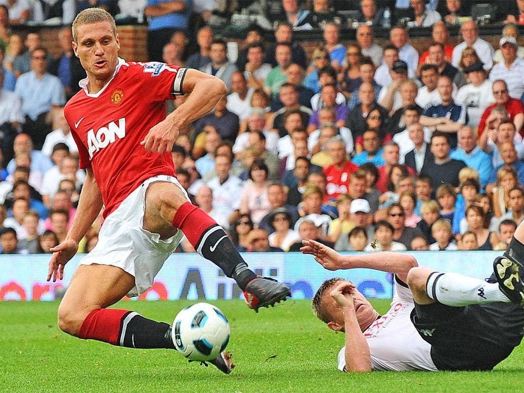 Nemanja Vidic is unsurprised that United's injured players, including himself, have been readily replaced